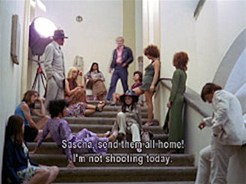 """Film production, Fassbinder style, from """"Beware of a Holy..."""" LGBTQ+ film"""